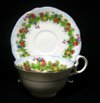 Aynsley Deco Floral Teacup