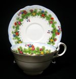 Aynsley Art Deco Tea Cup