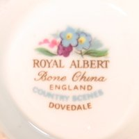 Royal Albert Country Scenes Backstamp Dovedale