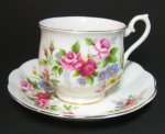 Vintge Royal Albert Floral Tea Cup and Saucer