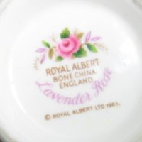 Royal Albert Lavender Rose Backstamp