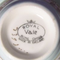 Signature Royal Vale Bone China Made in England Mark