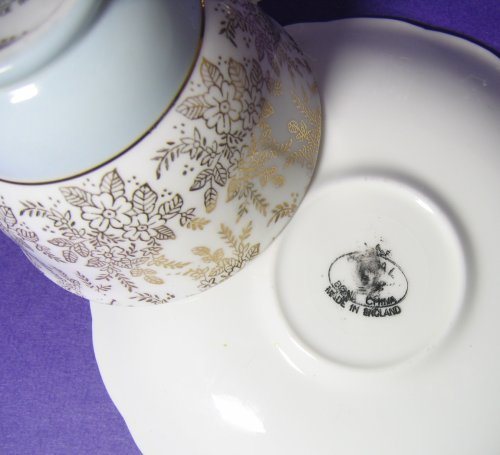 Showing True Cream Color of Teacup