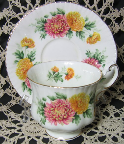 Paragon Mums Teacup and Saucer