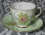 Colclough Bachelor's Button Teacup