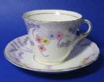 Colclough Art Deco Teacup and Saucer