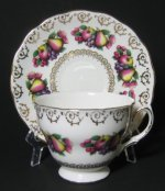 Colclough Fanciful Fruits Teacup