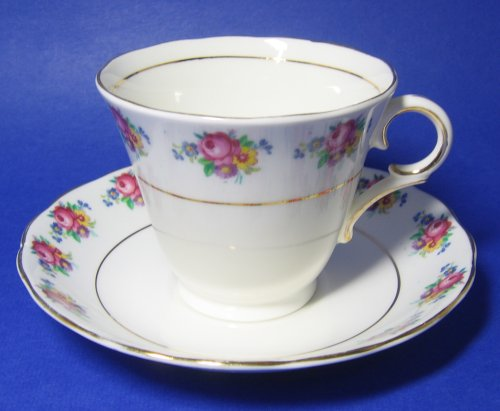 Colclough Spring Bouquet Teacup and Saucer