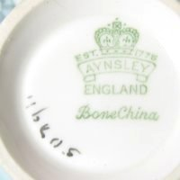 Vintage Aynsley England Bone China Mark