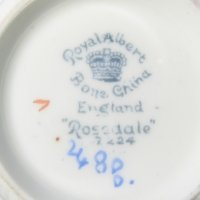 Bone China England Backstamp Royal Albert