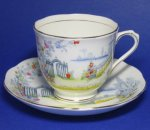 Vintage Royal Albert Rosedale Teacup and Saucer