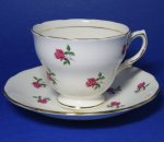 Colclough Rosebud Teacup and Saucer