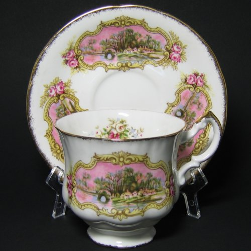 Paragon Chippendale Tea Cup and Saucer