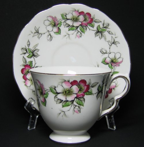 Vintage Queen Anne Tea Cup and Saucer