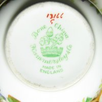 Hammersley Backstamp Made in England Bone China
