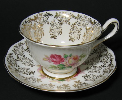 Vintage Royal Albert Gilt Floral Tea Cup