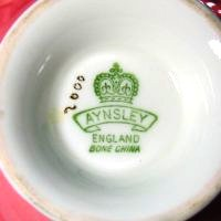 dating aynsley china marks Tipy a dating aynsley england bone china stoke, staffordshire date made: 20th c dating aynsley marks: recorded phone sex free samples online.