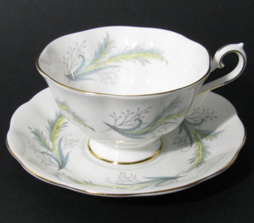 Royal Albert Rendez Vous Bone China Teacup At Classy Option Beautiful Pattern