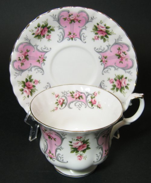 Vintage Royal Albert Love Story Series Valerie Tea Cup