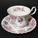 Royal Albert Valerie Teacup and Saucer
