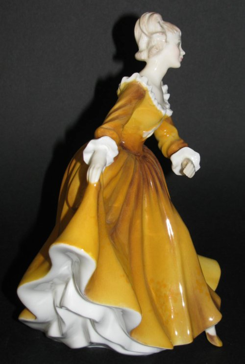 Royal Doulton Kirsty Figurine Side View