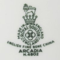 Royal Doulton English Fine Bone China Arcadia