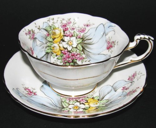 Paragon Teacup Floral Ribbon To The Bride
