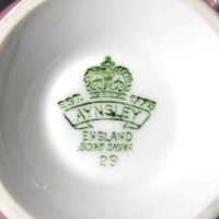 Aynsley England Bone China 29