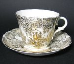 Colclough Gilt Flowers Teacup