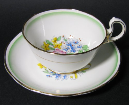 Royal Albert Deco Floral Teacup