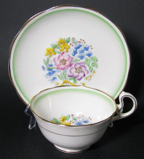 Royal Albert Deco Teacup and Saucer