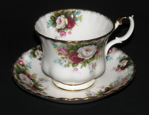 Wonderful Royal Albert Celebration Teacup and Saucer