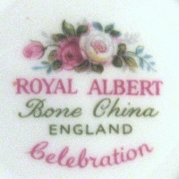 Royal Albert Bone China England Celebration