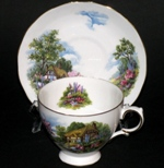 Royal Vale Cottage Scenery Teacup