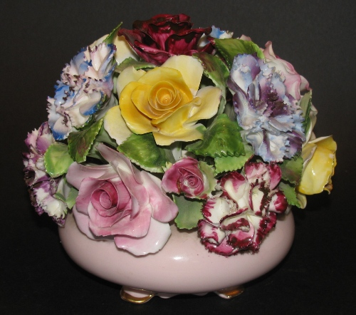 Adderley Bone China Floral Bouquet