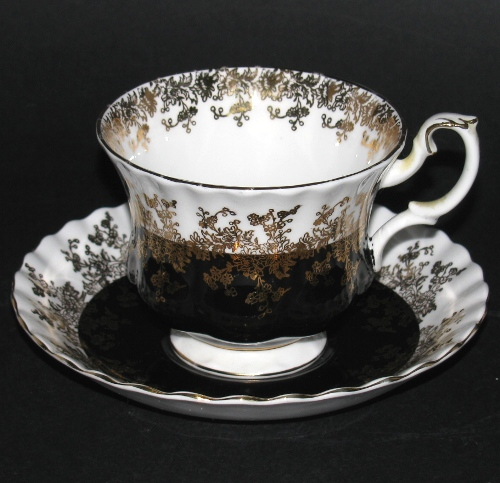 royal albert regal series teacup and saucer