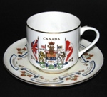 Aynsley Canada Confederation Teacup