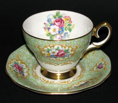 Queen Anne Gainsborough Teacup