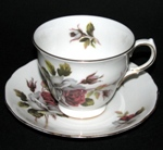Red Roses Teacup