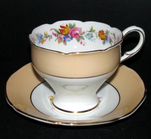 Paragon Pastel Floral Teacup and Saucer