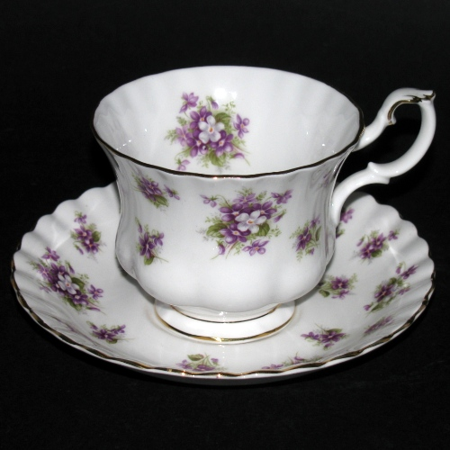 Royal Albert Sweet Violet Teacup and Saucer