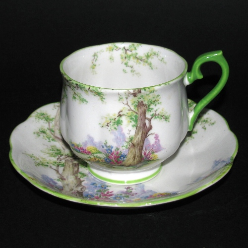 Royal Albert Greenwood Tree Teacup and Saucer