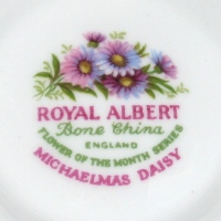 Royal Albert Flower of the Month
