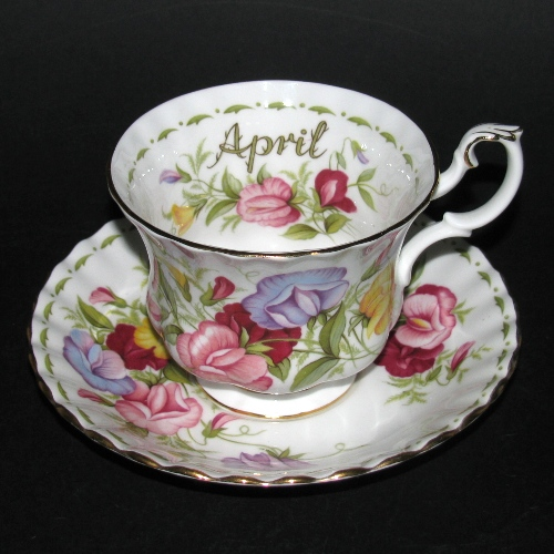 Royal Albert Sweet Pea Teacup and Saucer