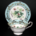 Paragon Good Luck 4 Leaf Clover Teacup