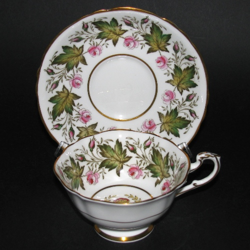 Paragon Princess Elizabeth Visit Tea Cup and Saucer