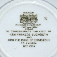 To Commemorate the Visit of Princess Elizabeth to Canada