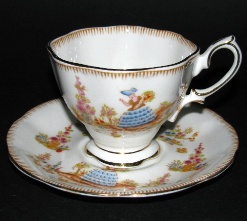 Royal Albert Dainty Dinah Teacup and Saucer
