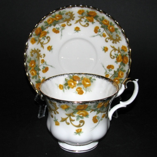 Royal Albert Marjorie Teacup and Saucer