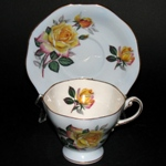 Yellow Roses Teacup